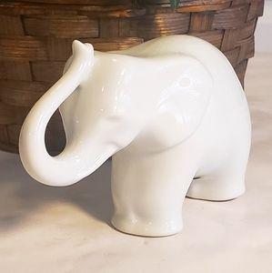 Vintage Fine Porcelain Elephant Figurine
